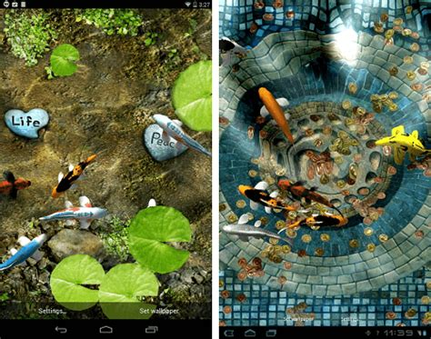 koi live wallpaper pro apk koi live wallpaper apk version free gallery