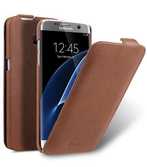 Melkco Premium Leather Jacka Type For Samsung Gala Promo 1 samsung galaxy s7 edge mobile cases cellphone genuine leather vertical