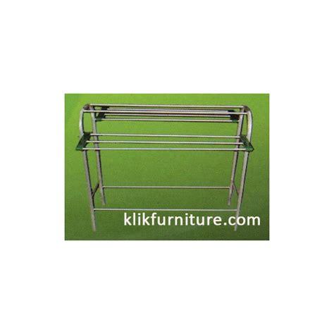 Rak Handuk Alumunium jemuran handuk aluminium harga promo termurah