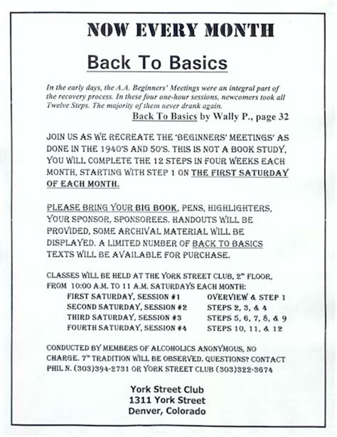 Aa Back To Basics Worksheets