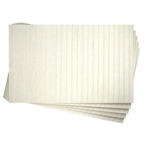 White Wainscoting Home Depot by 3 16 In X 32 In X 48 In Dpi Pinetex White Wainscot