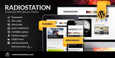 themes wordpress radio station radio station premium wordpress theme wordpress
