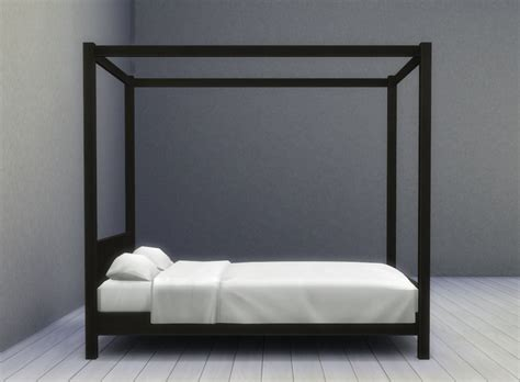 modern 4 poster bed cube modern four poster bed solid