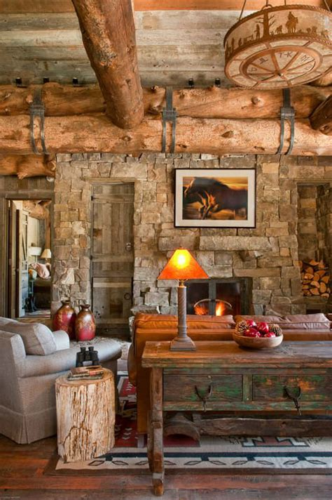 Rustic Livingroom - 40 awesome rustic living room decorating ideas decoholic
