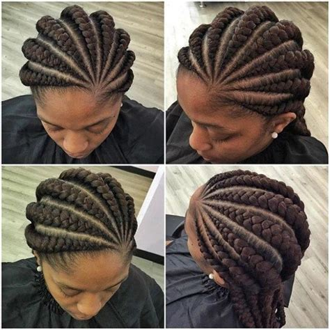 is there any picture showing short weave to plait top ghana hairstyles weaves for any women related