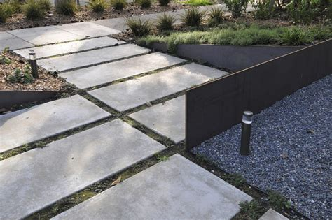 large concrete pavers large concrete pavers landscape contemporary with outdoor