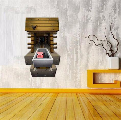 home decor 3d stickers aliexpress com buy wall paper cartoon minecraft wall