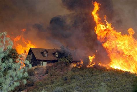 The On Socal Fires by California Wildfires Kill Firefighter Hundreds From