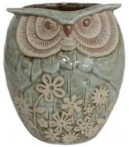 Owl Planter by Ceramic Owl Planter Owls