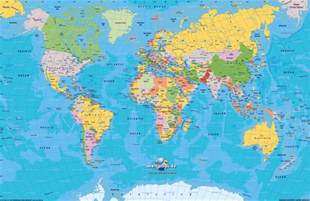 World Map Atlas by Barbados Map World Atlas