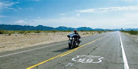 Motorradtouren Route 66 by 2448 Meilen Werden Sie Zur 252 Cklegen W 228 Hrend Ihrer Harley