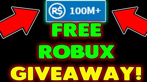 Robux Giveaway Youtube - 1m free robux giveaway join now how to get free robux on roblox 2017 youtube