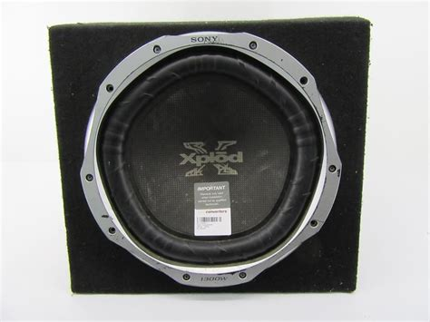 Speaker Aktif Sony Xplod converters sony subwoofer xplod 1300w