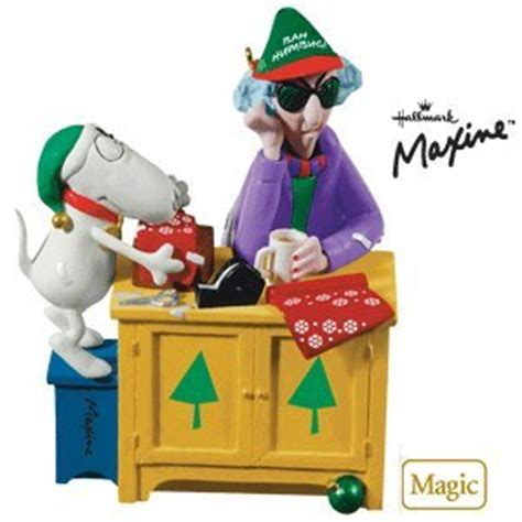 amazon com bah humbug maxine 2010 hallmark ornament home