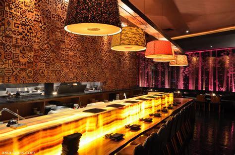 blowfish kitchen bar contemporary japanese dining sensuous lounge illuminate jakarta nightlife asia bars restaurants
