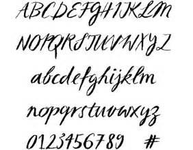 10 number script fonts images cursive script fonts