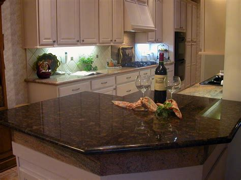 Brown Kitchen Countertops by Brown Granite Installed Design Photos And Reviews