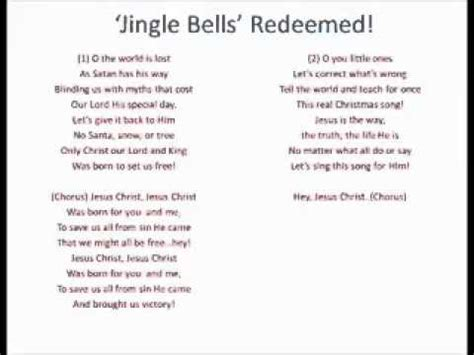 eminem jingle bells lyric jingle bells redeemed lyrics youtube