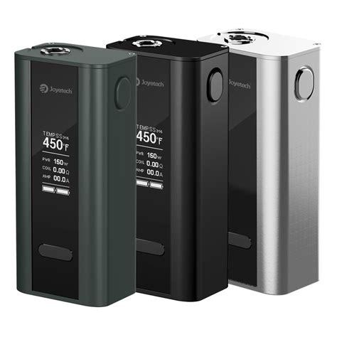 Cuboid 150 Watt Silver Mod Vape 2 kit joyetech cuboid 150w 200w tcr box mod grey