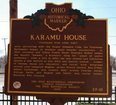karamu house historical marker