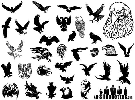free vector clipart eagle vector clip free 123freevectors