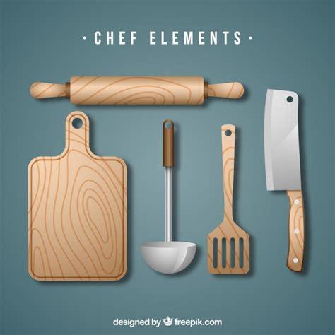 herramientas de cocina conjunto de herramientas de cocina de madera descargar
