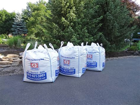 cubic yard bag delivery ottawa greely sand gravel