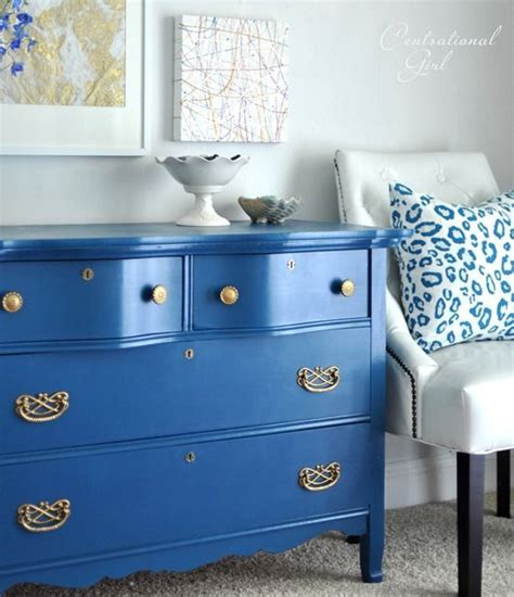 blue painted furniture blue painted dresser with gold pulls home decorating
