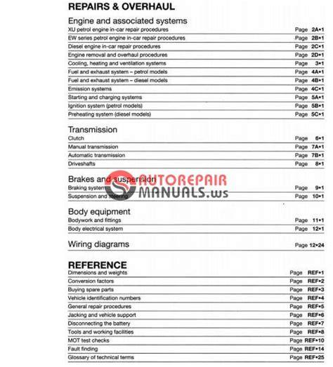 peugeot 406 hdi repair manual upcomingcarshq