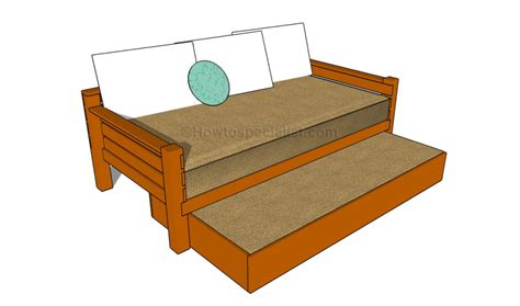 how to build a futon how to build a trundle bed howtospecialist how to