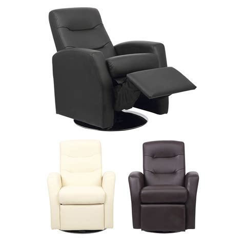 Kids Reclining Swivel Chair Living Room Furniture Padded Swivel Reclining Chairs For Living Room