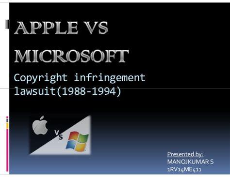 apple vs microsoft apple vs microsoft lawsuit pdf