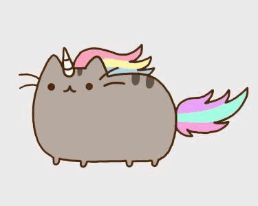 cat unicorn tattoo pusheen as a unicorn unicorns pinterest