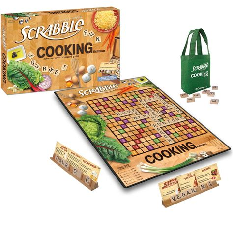 cooking board scrabble cooking edition board game board games messiah