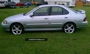 2002 Nissan Sentra Ser 2002 Nissan Sentra Se R Spec V 2 5 Liter 6 Speed Manual