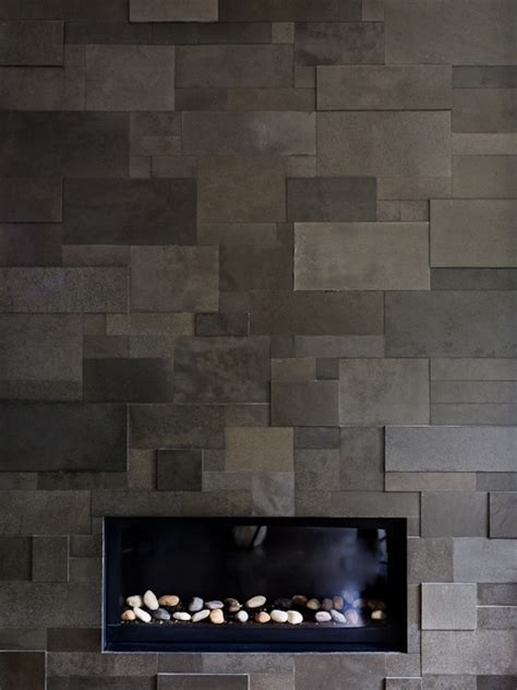 cool tile for fireplace wall fireplace ideas