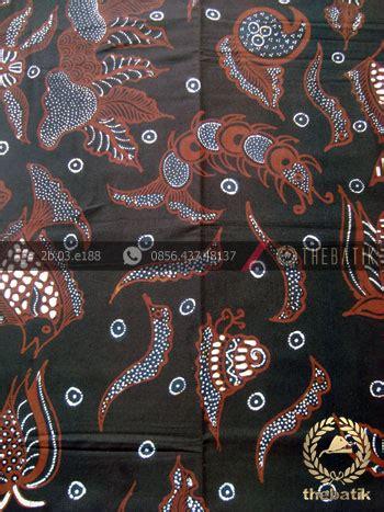 Batik Tulis Motif Kawung Hitam bahan baju batik motif sekarjagad klasik soga genes unique indonesia batik fabric