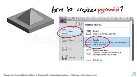 revit tutorial in dubai revit family tutorial how to create a pyramid in the