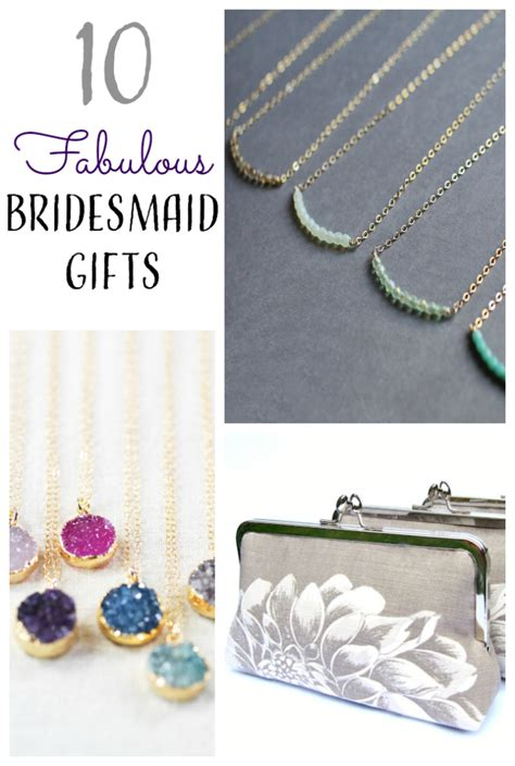 Handmade Bridesmaid Gifts - 10 bridesmaid gifts from etsy
