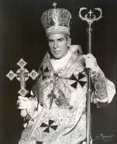 Lost Chances Bishop Chance 4 fulton sheen vested to celebrate the liturgy of st