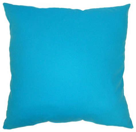 turquoise bed pillows turquoise bright turquoise 24x24 floor pillow modern