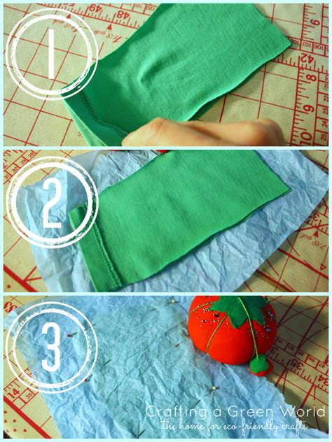 how to sew with knit fabric without a serger how to sew knit fabric with the tissue paper method