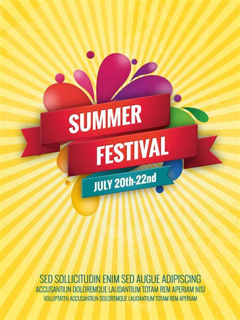 festival poster template free pics for gt food festival poster template