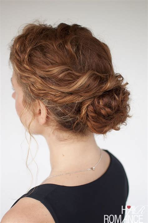 hairstyles updo curls the best curly hairstyle tutorials for frizzy hair hair