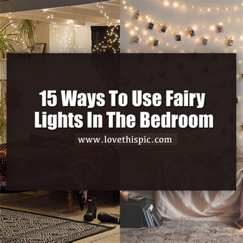 ways to hang lights in bedroom 15 ways to use fairy lights in the bedroom