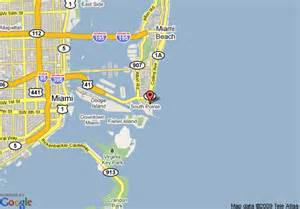 Miami South Beach Map by Map Of Miami Beach Marriott At South Beach Miami