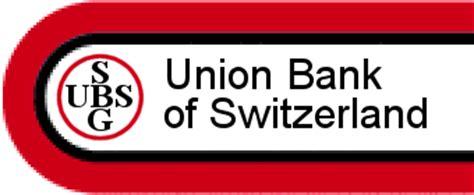 union investment service bank union bank of switzerland