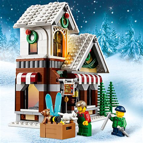 Lego Winter Shop Creator 10249 buy lego creator 10249 winter shop lewis