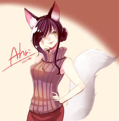 imagenes de japonesas vestidas de anime ahri league of legends image 1815989 zerochan anime