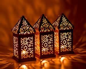 3 or antique lanterne marocaine exotiques lanternes